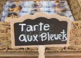 tarte aux bleuets